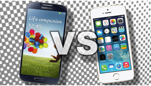 iPhone-5-VS-Samsung-S4